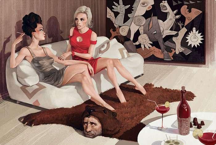 Способы сексуального доминирования и унижения женщины мужчиной